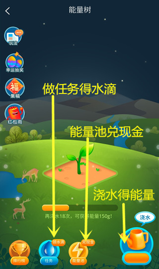 绿洲世界能量树